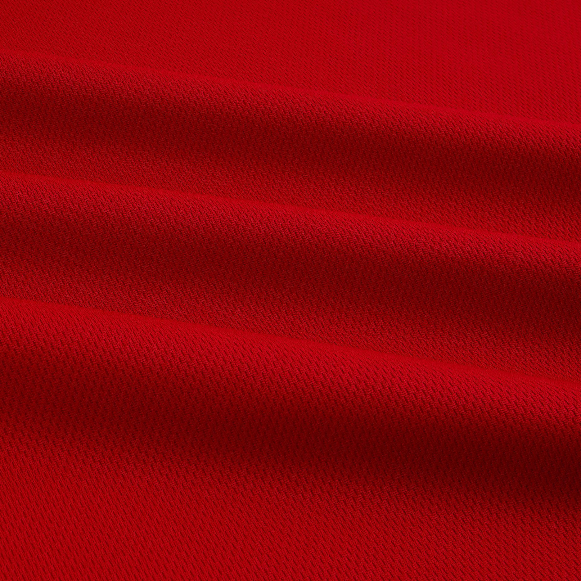 Athletic Mesh Knit Red Fabric by Textile Creations in USA