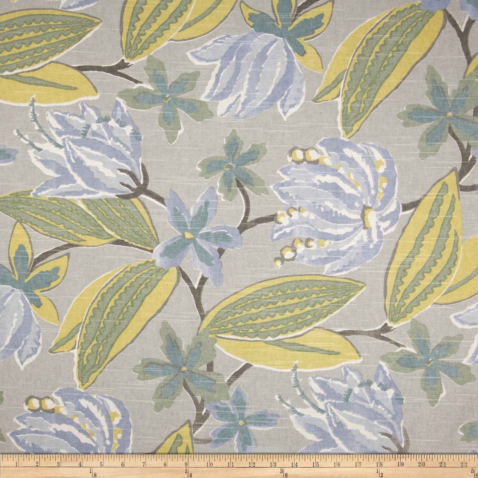 Robert Allen Indoor/Outdoor Baja Botany Spa Fabric