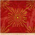 Indian Batiks Sun Red
