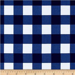 "Riley Blake 1"" Gingham Navy"
