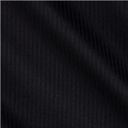 Kaufman Raw & Refined 5 oz. Dobby Small Stripe Black