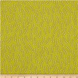 Fabric Freedom Blossom Sprigs Green