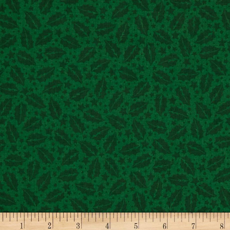 A Christmas Story Holly Tonal Green