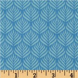 Passport Jaipur Feather Stripe Blue