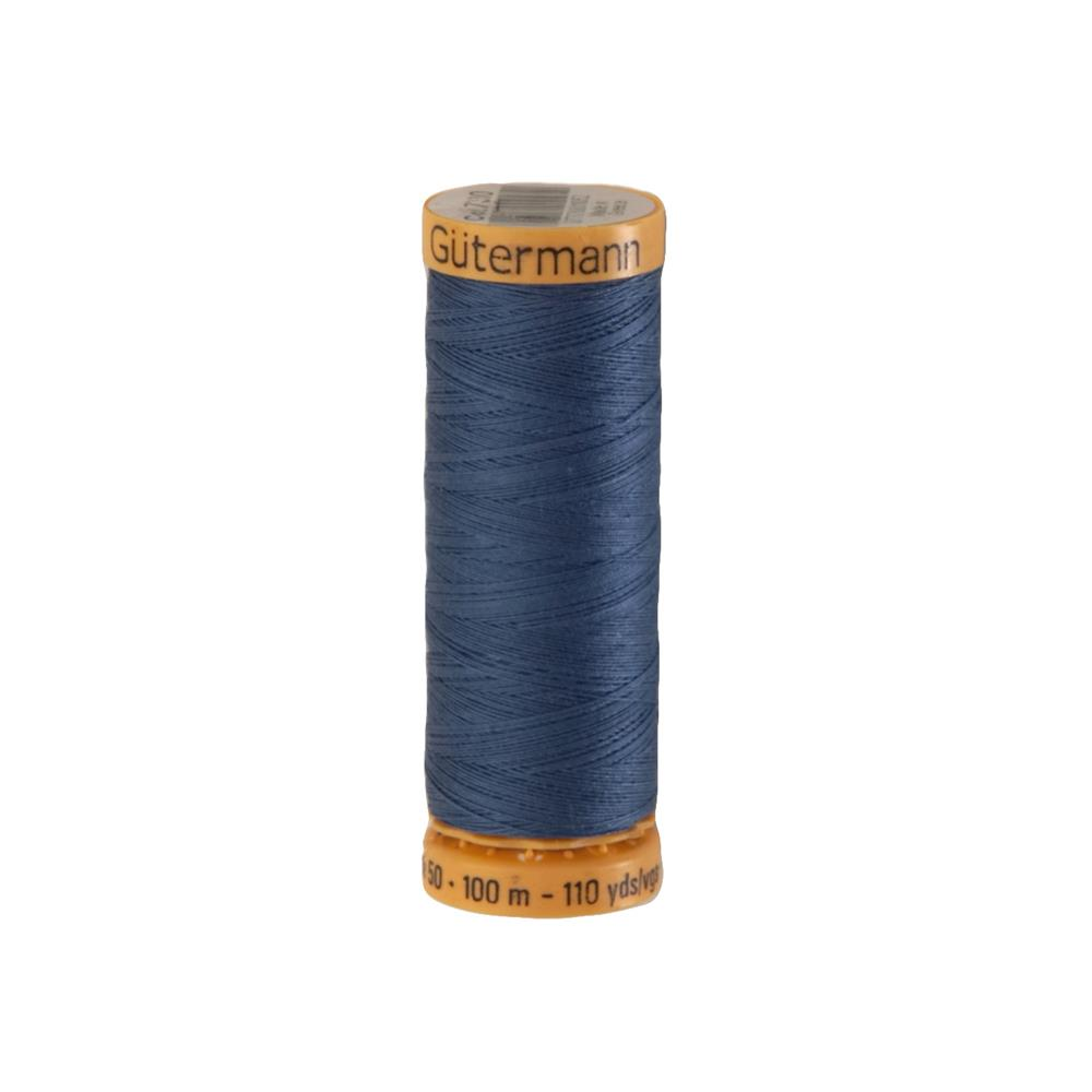 Gutermann Natural Cotton Thread 100m/109yds Dark Azure