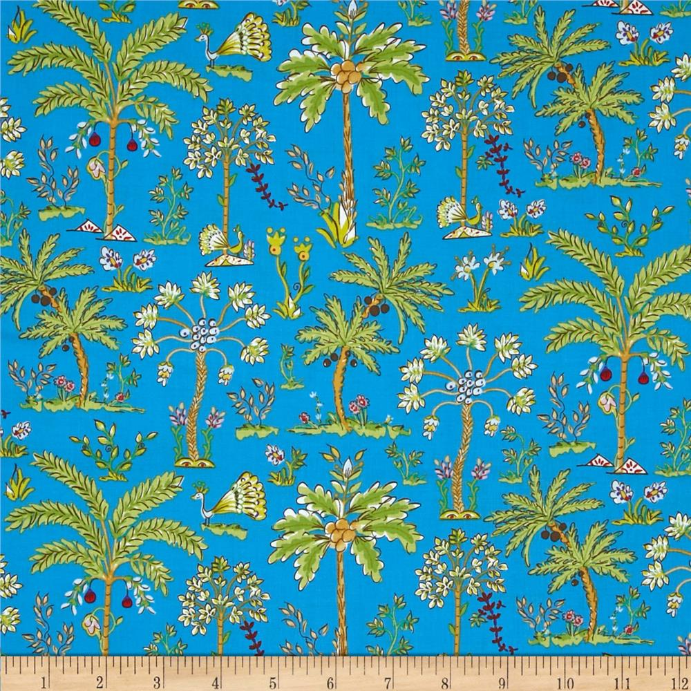 Haute Girls Palm Trees Blue
