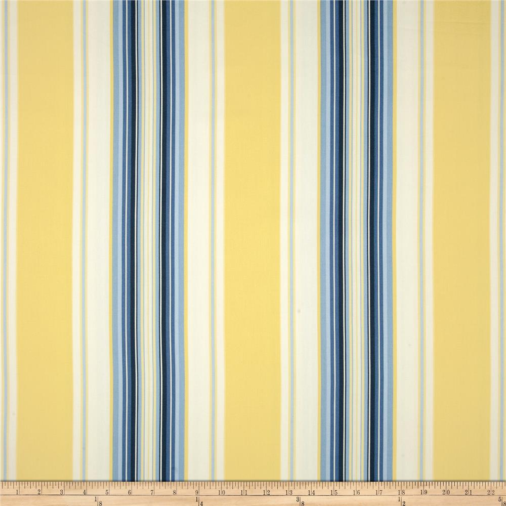 Blue And White Striped Shower Curtain Blue and Yellow Curtain Trim