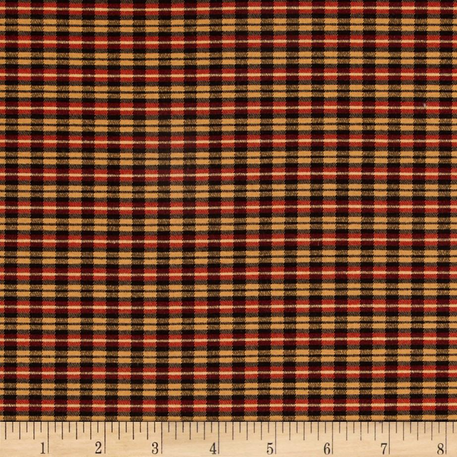 Robert Allen Promo Adonis Plaid Ruby