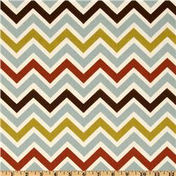 Premier Prints Zoom Zoom Village/Natural Fabric