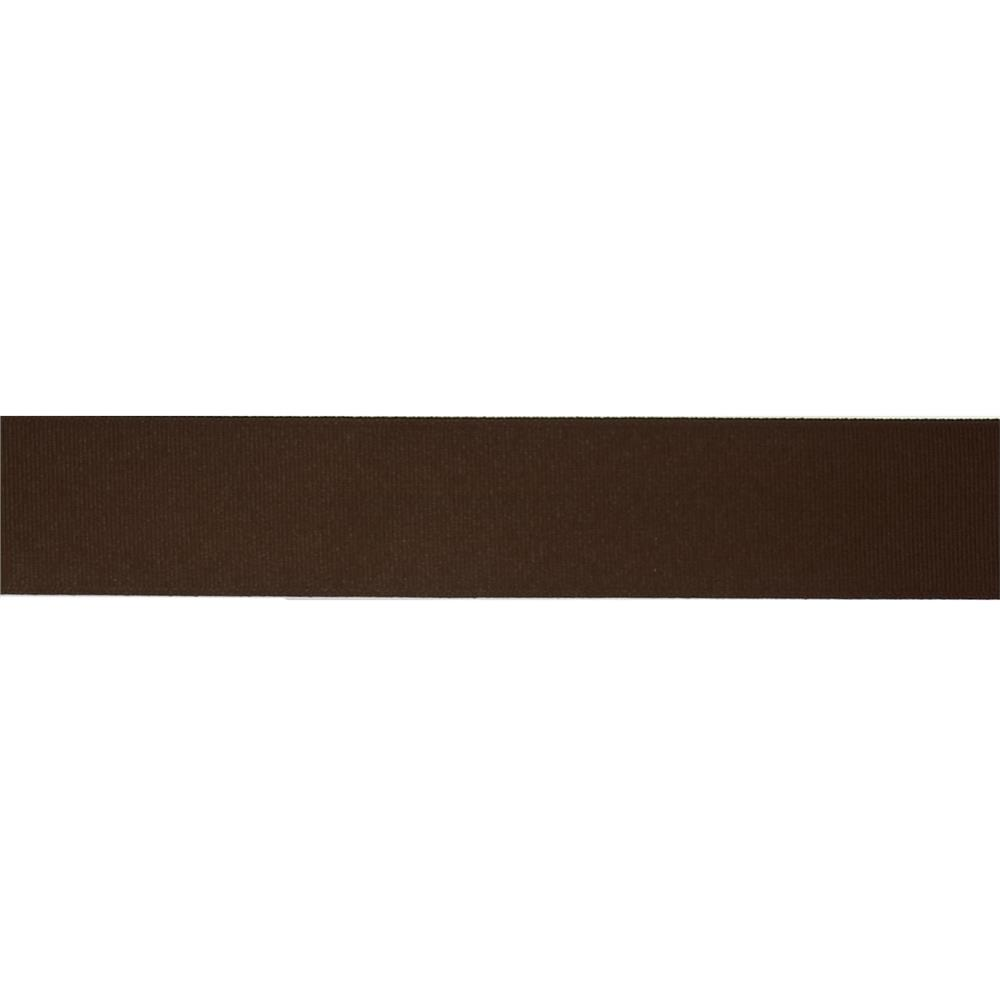 "1 1/2"" Grosgrain Solid Ribbon Brown"