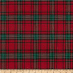 Holiday Blitz Large Plaid Red/Green Fabric