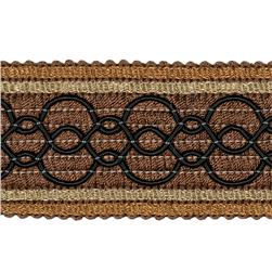"Jaclyn Smith 2"" 02108 Trim Cocoa"