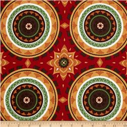 Terrasol Indoor/Outdoor Impressions Chili Pepper Fabric