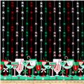 Michael Miller Holiday Party Candy Cane Cocktails Border