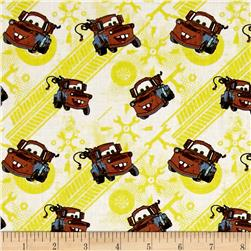 Disney Cars Tow Mater Sunshine
