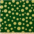 Michael Miller Holiday Glitz Lolli Dot Spearmint