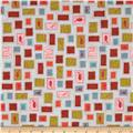 Cotton & Steel Lawn Homebody Stamps Light Grey