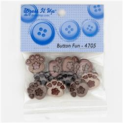 Dress It Up Embellisment Buttons  Fun Fancy Paws