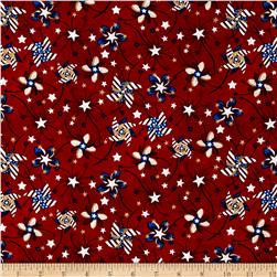 Libertyville Patriotic Pinwheel Toss Red