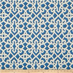 Waverly Williamsburg Francis Fret Chintz Bluebell Fabric