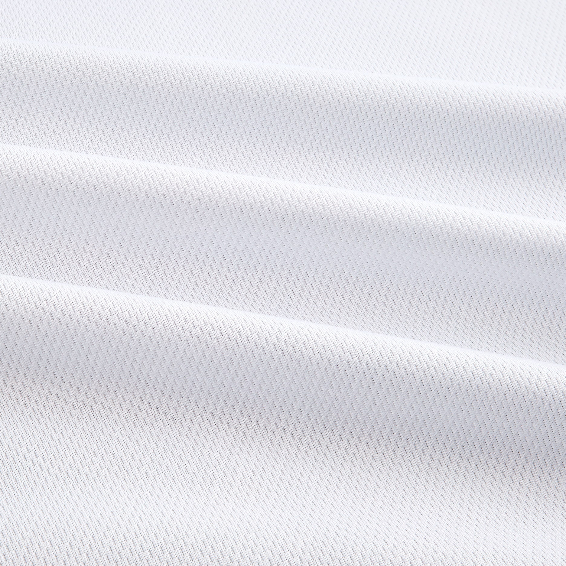 Athletic Mesh Knit White Fabric 0269440