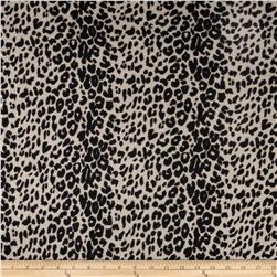 Tissue Hatchi Sweater Knit Leopard Print Tan/Black