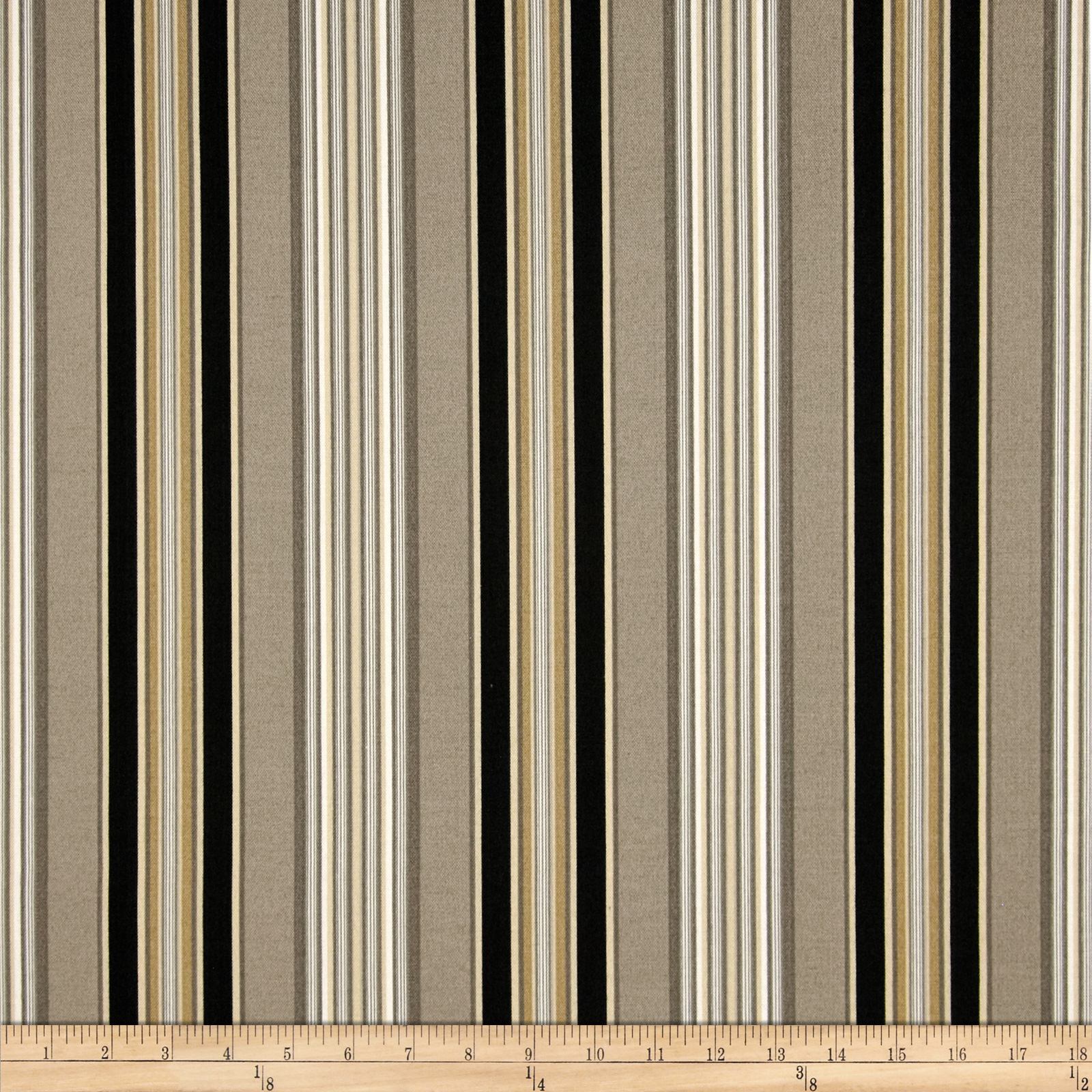 Waverly Sun N Shade Getaway Stripe Onyx