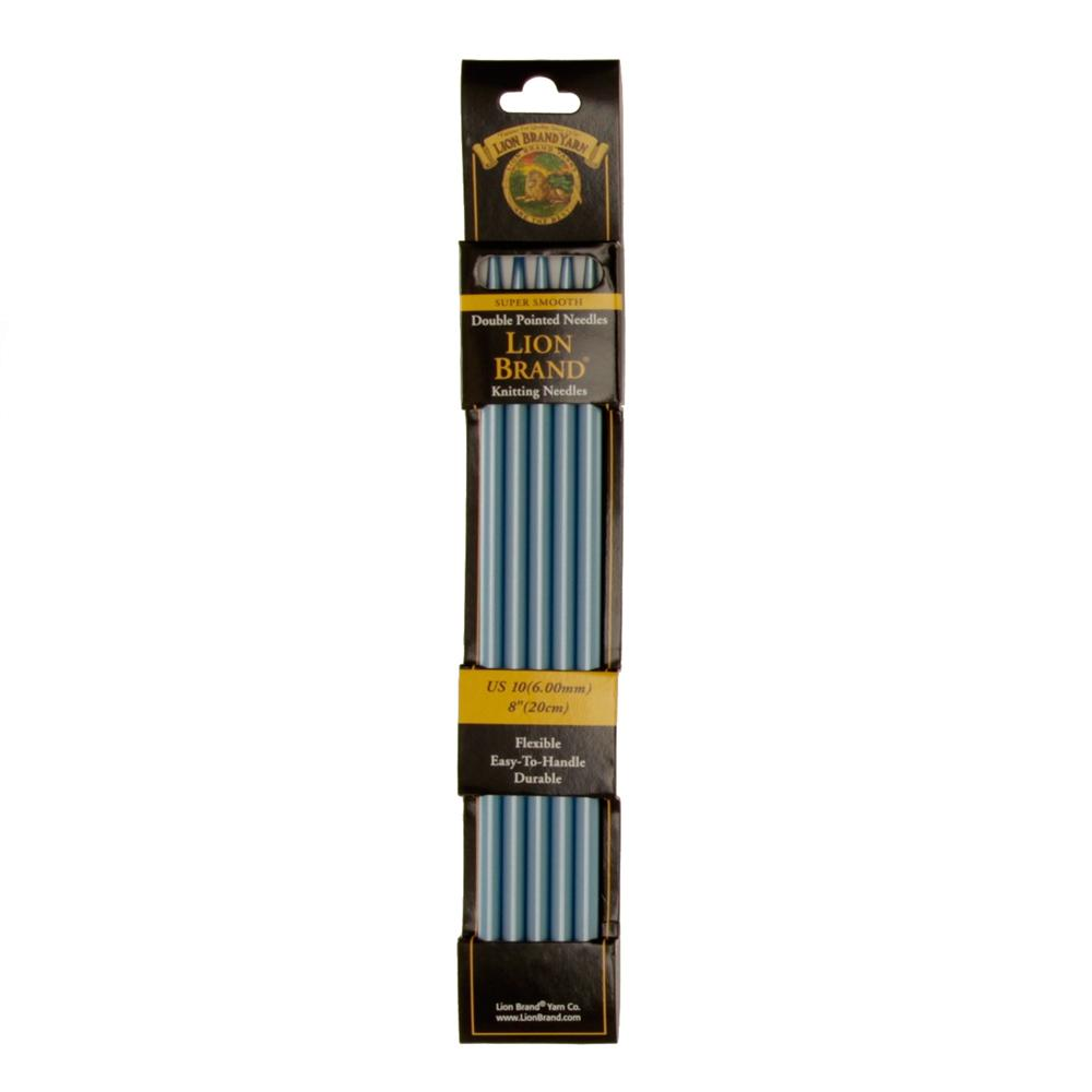 "Lion Brand Knitting Needles Double Pt. 8"" US 10 (6mm)"