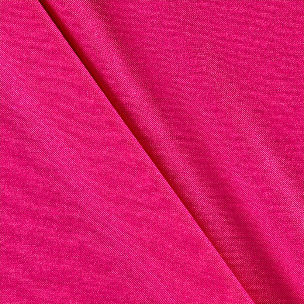 Lightweight Stretch Rayon Jersey Knit Solid Fuchsia  Fabric By The Yard