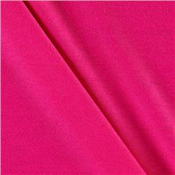 Lightweight Stretch Rayon Jersey Knit Solid Fuchsia