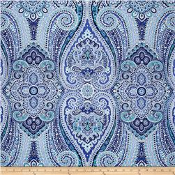 Waverly Paisley Pizzazz Sateen Delft