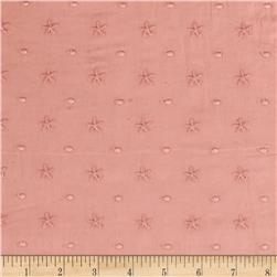 Cotton Eyelet Starfish Blush