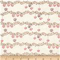 Bird Wise Heart Stripe Beige