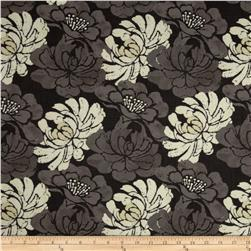 Twilight Blooms Packed Floral Black-Grey