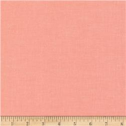 Cloud 9 Organic Cirrus Solid Coral Fabric