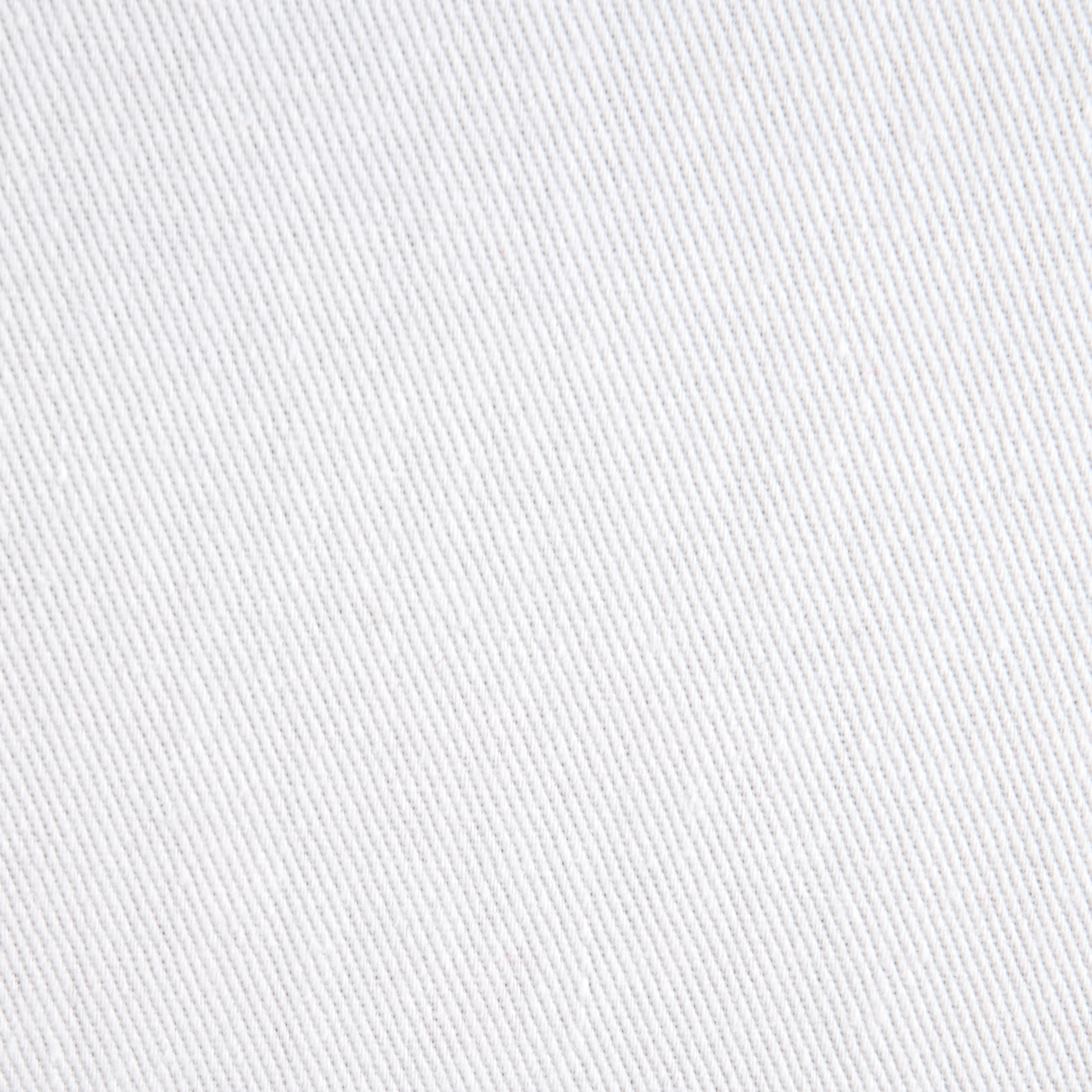 Cotton Twill White Fabric by Textile Creations in USA