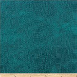 Richloom Tough Faux Leather Safari Teal