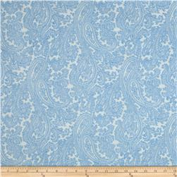 Michael Miller French Journal Posh Paisley Blue