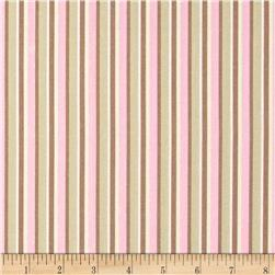 Outback Stripe Pink Fabric