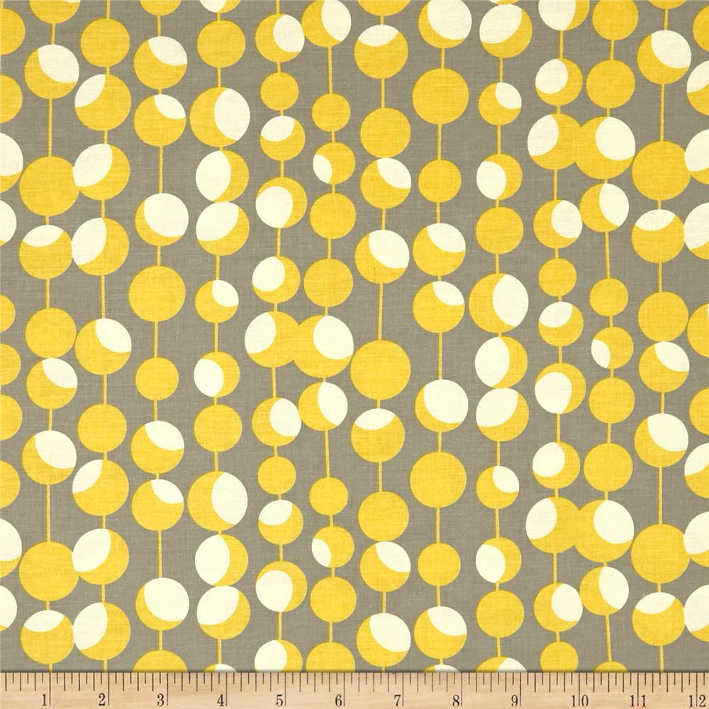 Amy butler midwest modern martini mustard discount for Fabric pattern