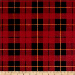 Wilderness Flannel Plaid Brick