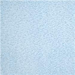 Double-Sided Minky Fleece Baby Blue