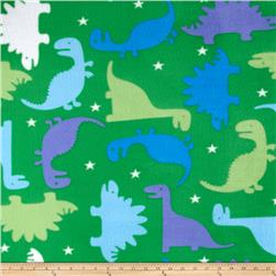 Simply Dinosaur Story Fleece Green
