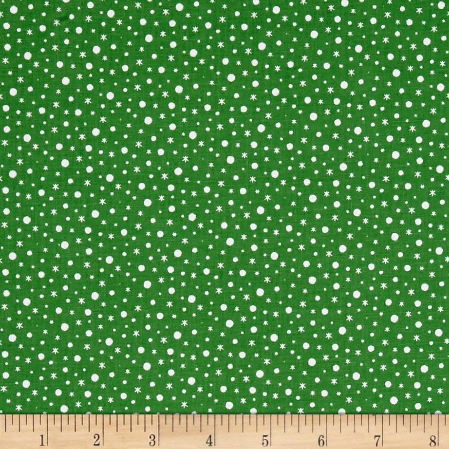 Santa's Little Helpers Snow Green