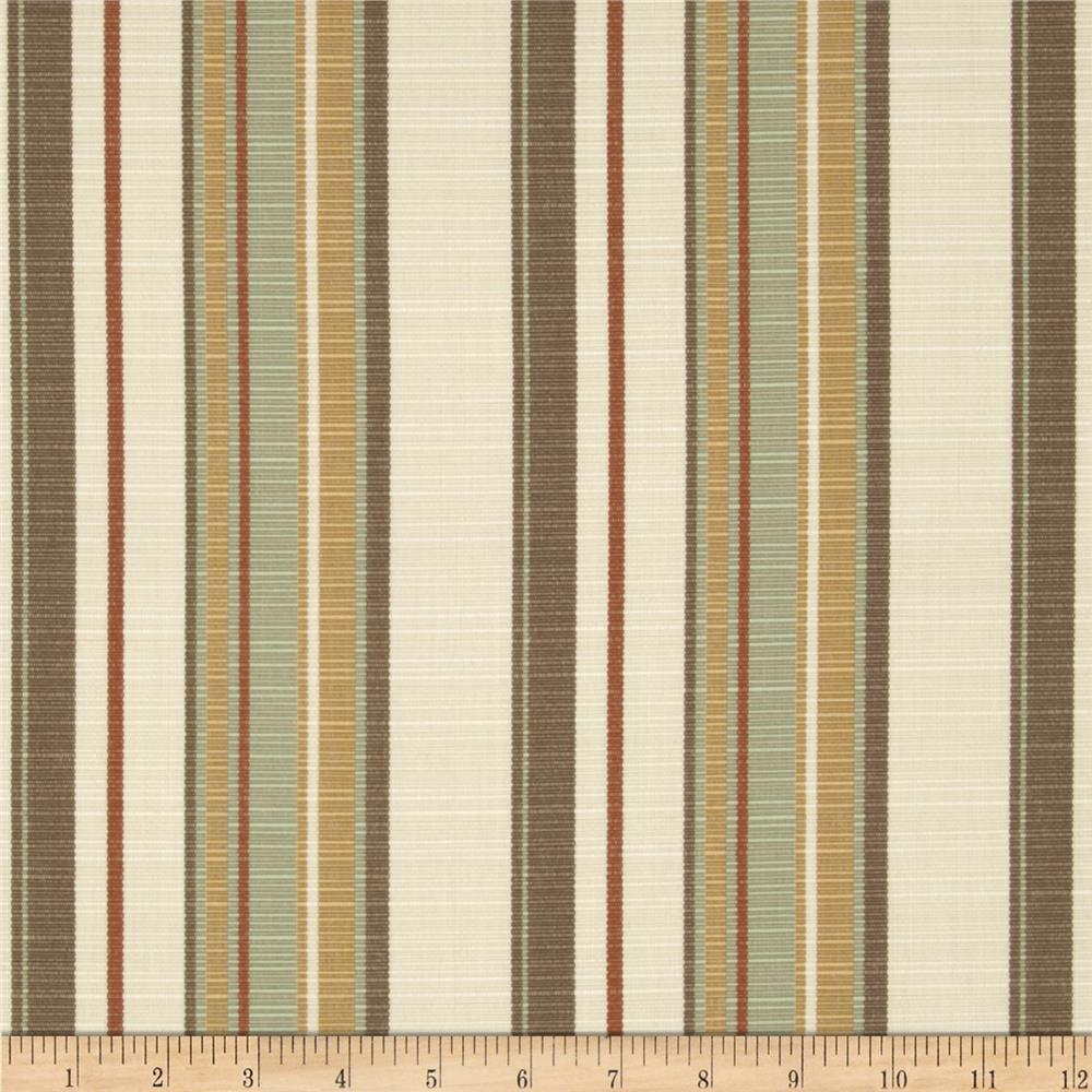 Sunbrella Outdoor Carnegie Stripe Willow