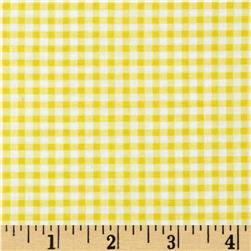 Wishing Well Gingham Yellow