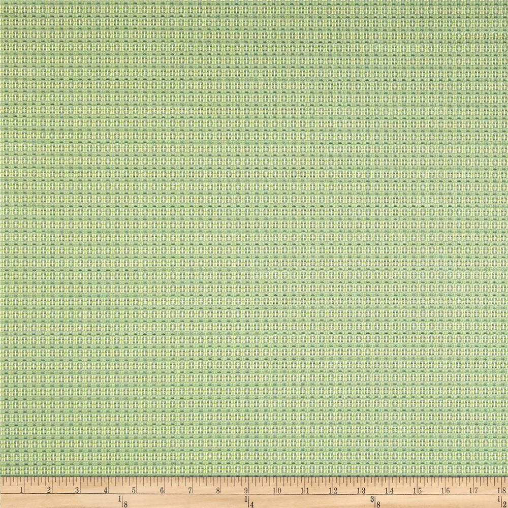 Dwell Studio Sunbrella Locking Dots Lime