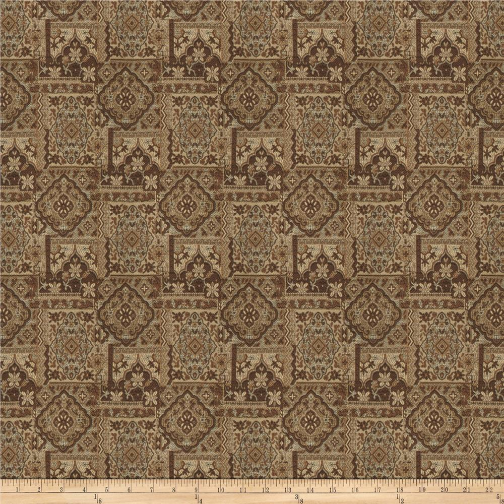 Trend 02893 Jacquard Brown