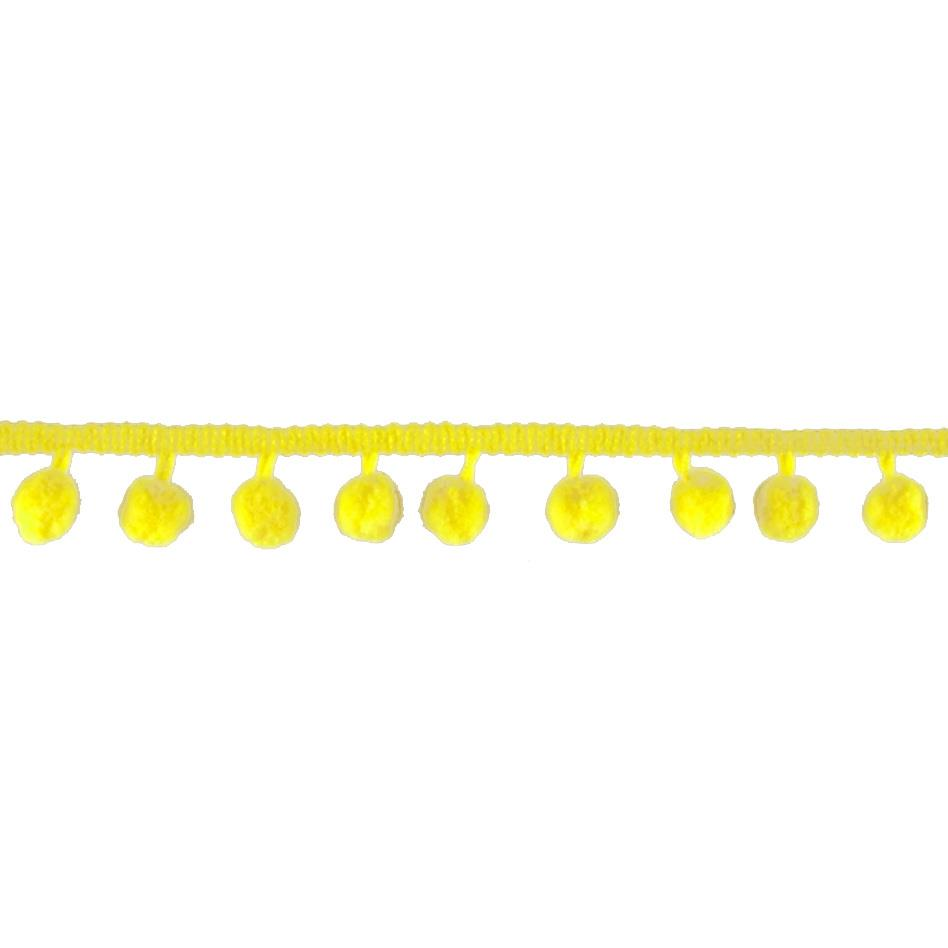 Riley Blake 1/2'' Regular Pom Pom Trim Yellow
