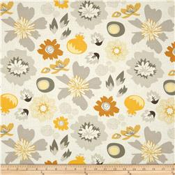 Riley Blake Lost and Found 2  Floral Grey